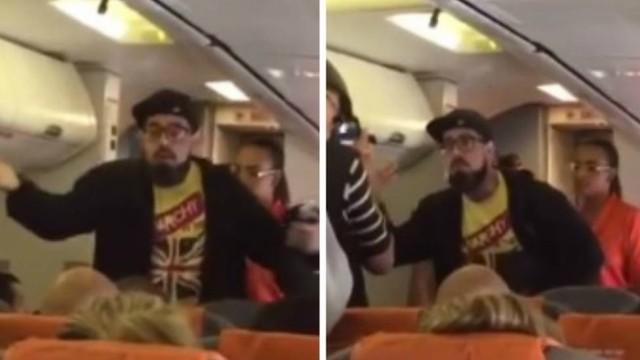 Tico Santa Cruz se envolve em confusão e é expulso de avião pela Polícia Federal (Foto: Reprodução)
