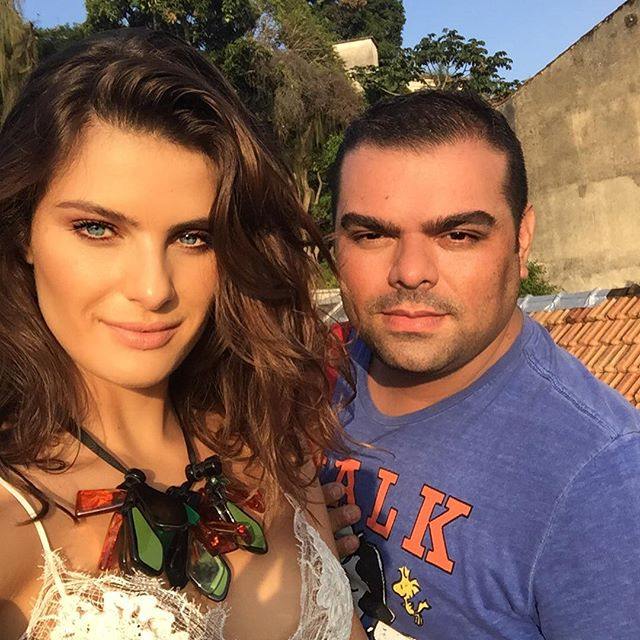 Isabeli Fontana e Everson Rocha