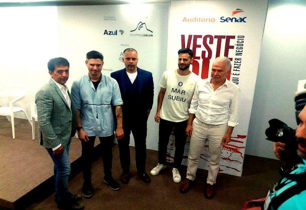 Ricardo Almeida, Jorge Grinberg, Ricardo Cruz, Rodrigo Ribeiro, Ricardo Ferreira (Foto: Leonardo Rocha)