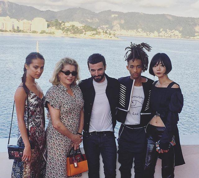 Alicia Vikander, Catherine Deneuve, Nicolas Ghesquière, Jaden Smith e Doona Bae