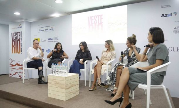 Reinaldo Lourenço, Daniela Falcão, Natalie Klein, Juliana Santos, Parícia Bonaldi e Maria Prata (Foto: Leonardo Rocha)