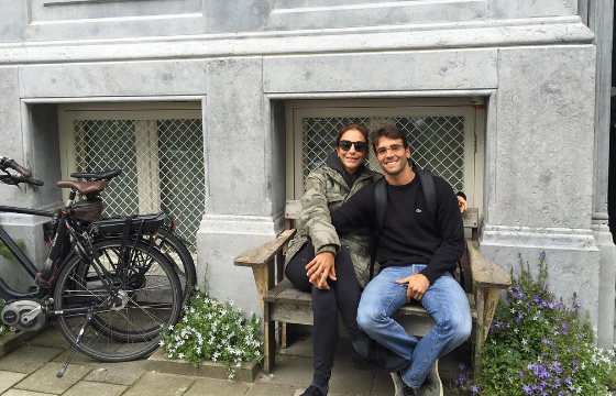 Ivete Sangalo e Daniel Cady na Europa (Foto: Reprodução)