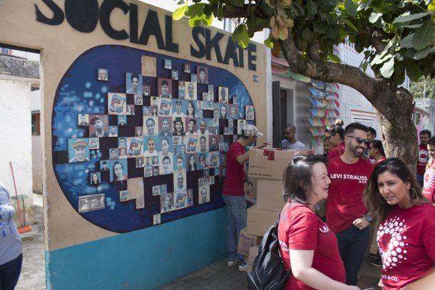 Dia de Social Skate na Levi's (Foto: Divulgação)