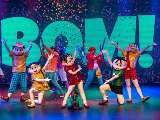 O show da Turma da Mônica chega ao Rio de Janeiro com painéis de LED e bailarinos para animar a criançada (Foto: Reprodução)