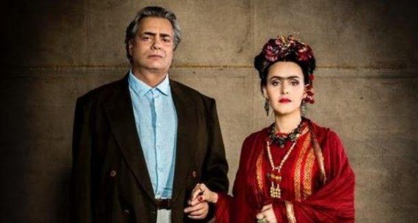 """José Rubens e a atriz na peça """"Frida y Diego (Foto: Divulgação)"""