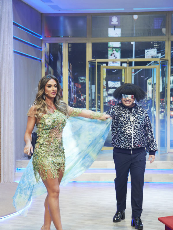 Nicole Bahls será a assistente de palco de Majella no talk show (Foto: Juliana Coutinho)