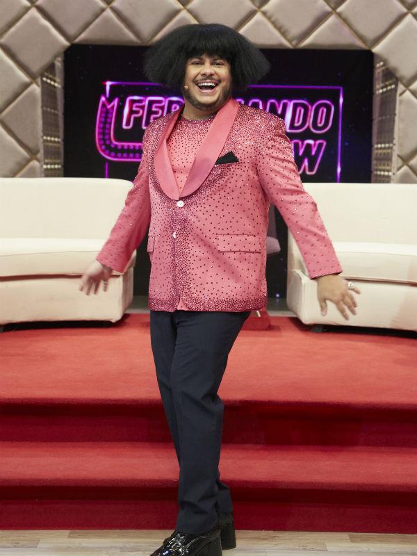 "Marcus Majella em ""Ferdinando Show"" (Foto: Juliana Coutinho)"