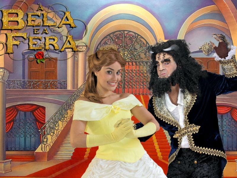 """""""A Bela e a Fera"""" está em cartaz no Teatro das Artes, na Gávea (Foto: Divulgação)"""