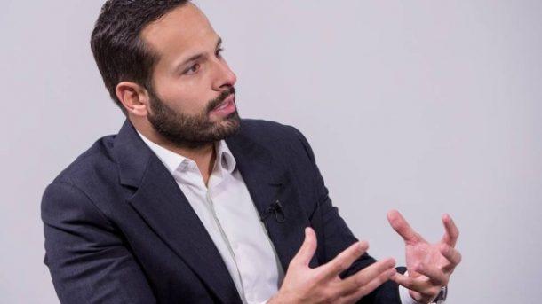 """Ministro Marcelo Calero durante entrevista ao programa """"Preto no Branco (Foto: Divulgação)"""