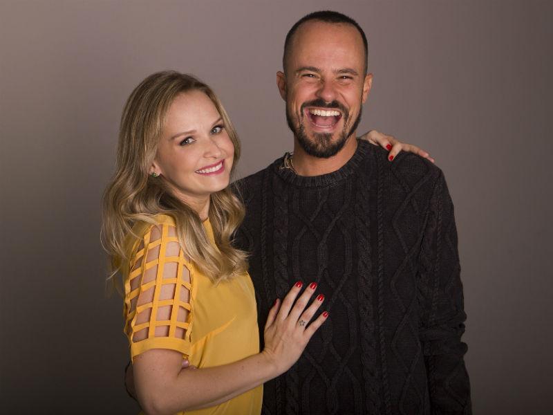 """Fernanda Rodrigues e Paulinho Vilhena voltam aos palcos do Rio com a peça """"Tô Grávida"""" (Foto: Rodrigo Molina/Divulgação)"""