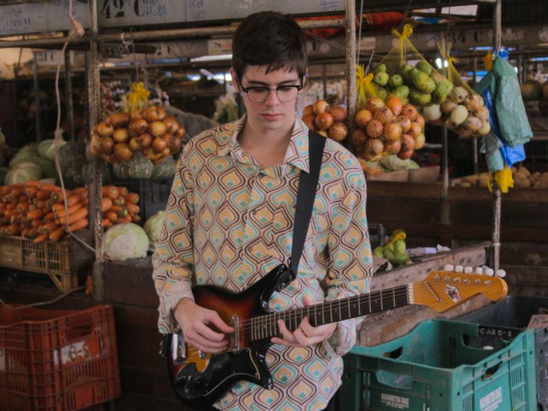 O guitarrista, que já tem um disco, se prepara para gravar o segundo (Foto: Gustavo Aguiar)