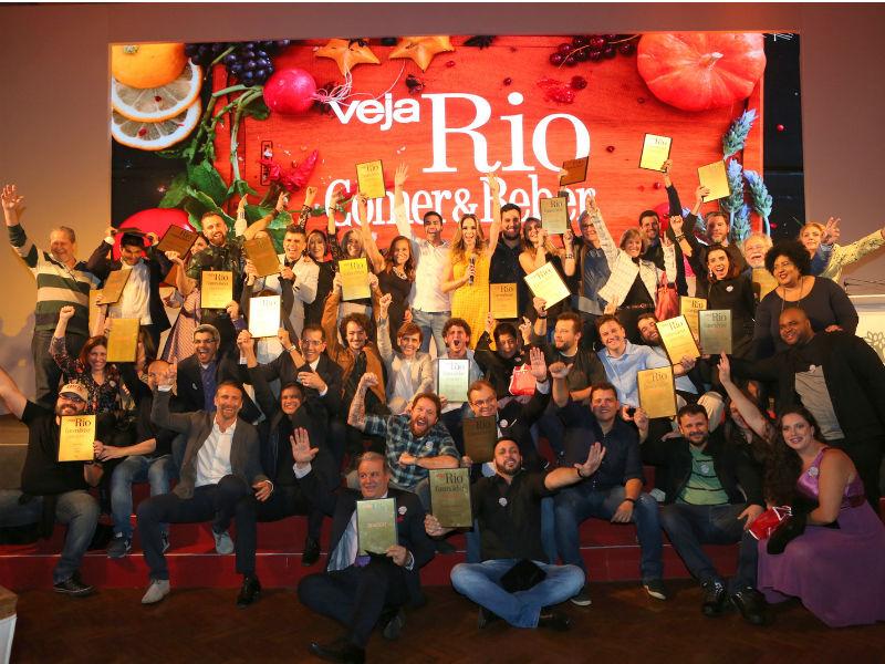 Ganhadores das 34 subcategorias de 2016 (Foto: Reginaldo Teixeira/CS Eventos Divulgação)