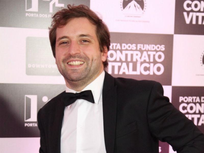 """Gregório Duvivier na pré-estreia de """"Contrato Vitalício"""", no Rio (Foto: AgNews)"""