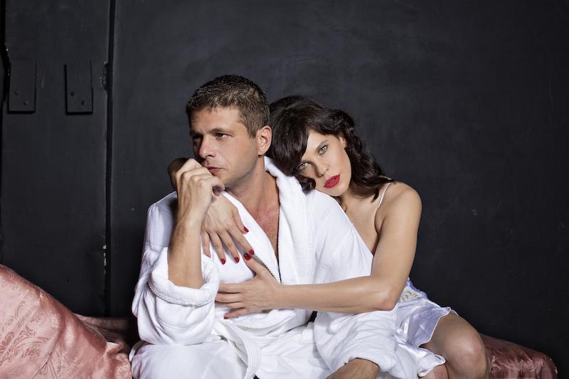 Augusto Zacchi e Barbara Paz (Foto: Ronaldo Gutierrez)