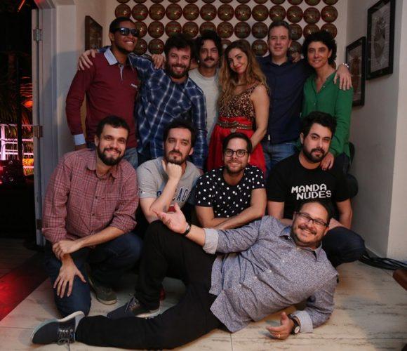 """A equipe do programa """"Adnight"""" (Foto: Divulgação)"""