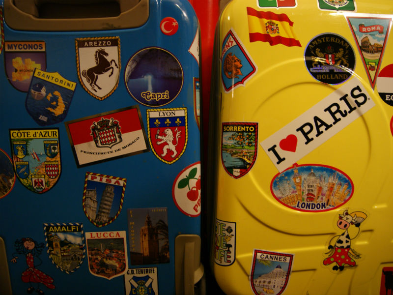 Oficina de malas customizadas (Foto: Reprodução)