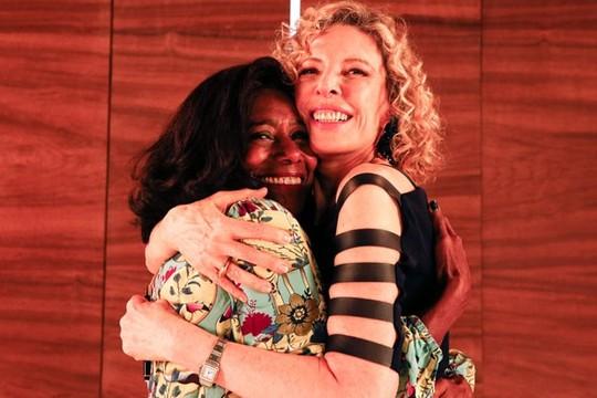 Glória Maria e Marília Gabriela (Foto: Divulgação)