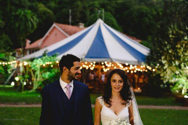 Matheus VK e Dani Gleiser no dia do casamento (Foto: Divulgação)