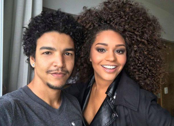 Titto e a atriz Juliana Alves (Foto: Divulgação)