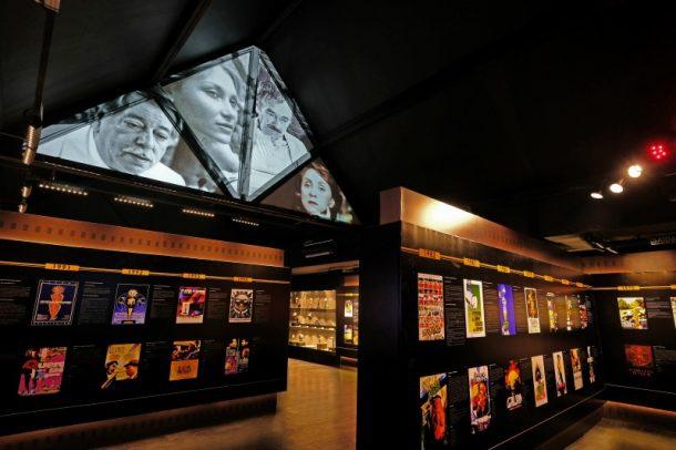 Parte interna do museu (Foto: Edison Vara/Pressphoto)