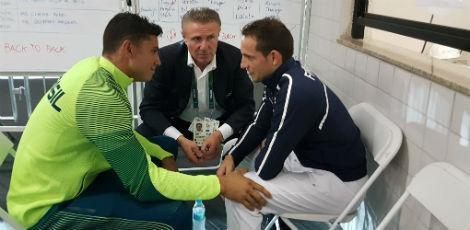 Thiago Braz e Renaud Lavillenie (Foto? Divulgação)