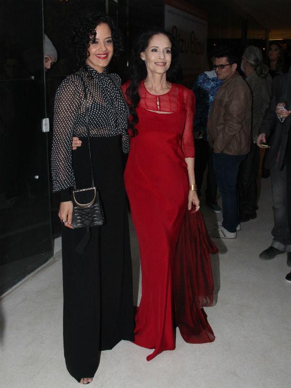 Maeve Jinkings e Sonia Braga (Foto: AgNews)