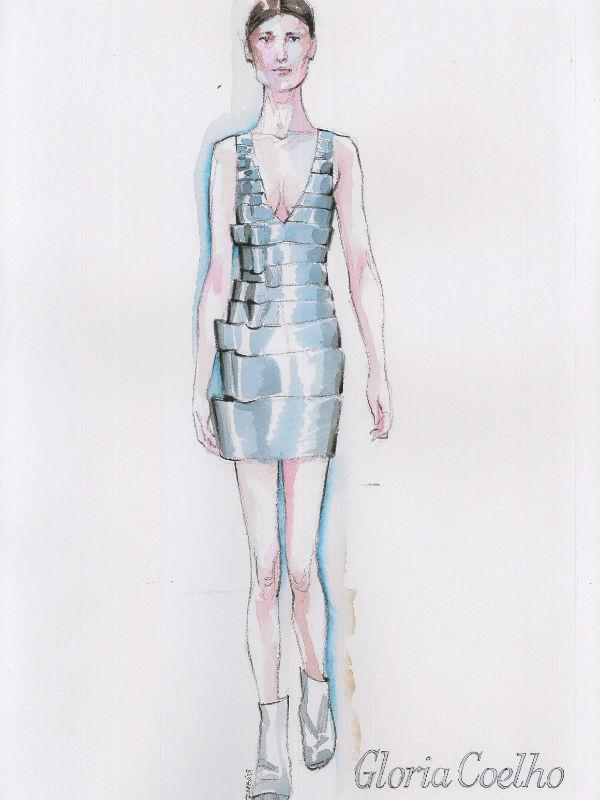 Croquis da mostra Fashion Iccon (Foto: Divulgação)