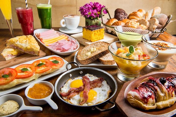 Café da manhã no Empório Jardim (Foto: Tomás Rangel)