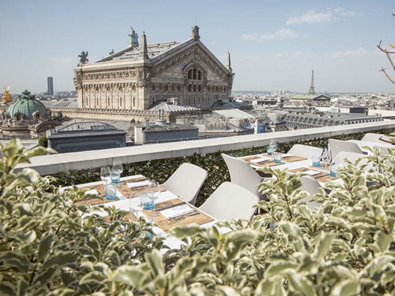 Terraço da Galeries Lafayette (Foto: Divulgação)