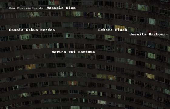 Nome da atriz aparece com a grafia errada na abertura da série