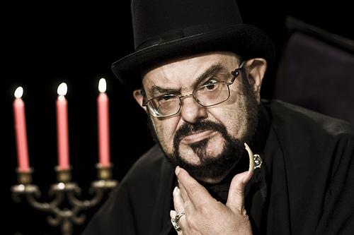José Mojica Martins, o Zé do Caixão (Foto: Divulgação)