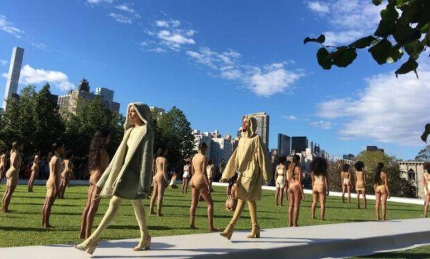 O desfile da Yeezy Season 4, by Kanye West (Foto: Divulgação)