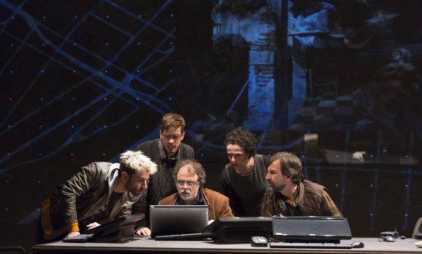 """Elenco da peça """"Céus"""" no Teatro Poeira (Foto: Divulgação)"""