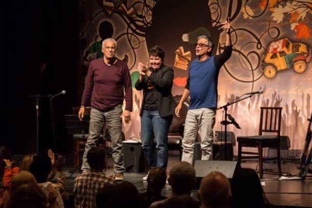 Zé Renato, Roberta Sudbrack e Danilo Caymmi (Foto: Camilla Guimarães)