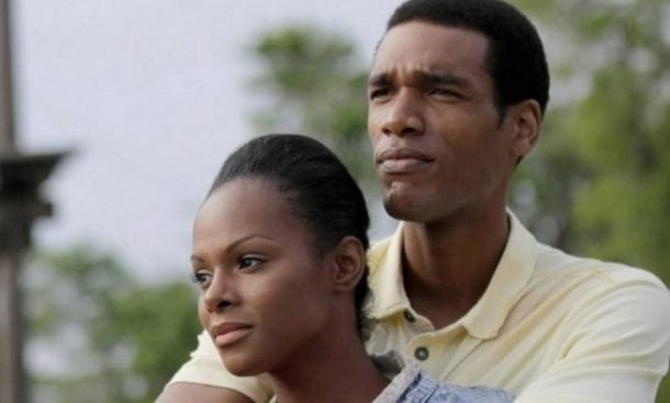 Parker Sawyers interpreta Obama jovem, e Tika Sumpter, Michelle (Foto: Divulgação)