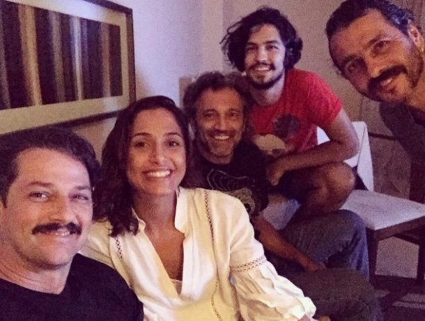 Marcelo Serrado, Camila Pitanga, Domingos Montagner, Gabriel Leone e Marcos palmeira (Foto: Divulgação)