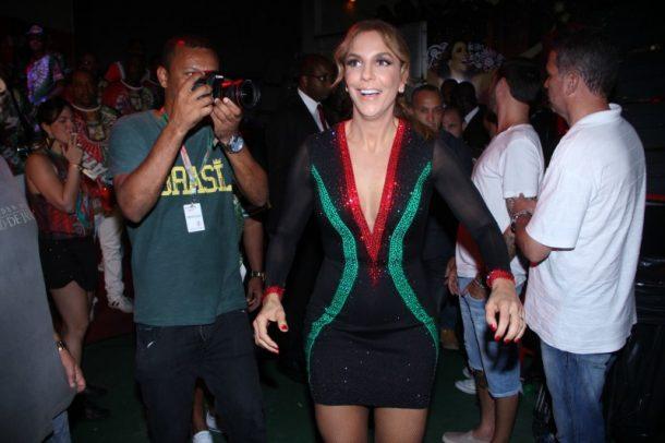 Ivete Sangalo marcou presença na Grande Rio (Foto: AgNews)