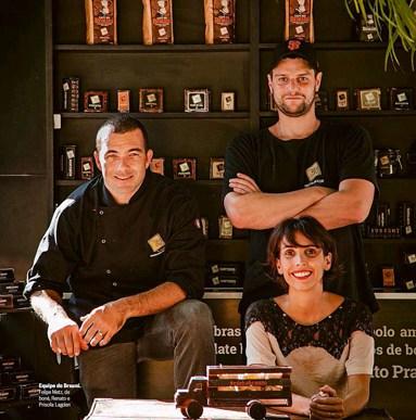 Os criadores da marca (Foto: Divulgação)