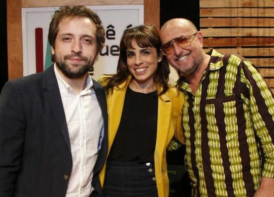 Gregório Duvivier, Maria Ribeiro e  Xico Sá (Foto: Divulgação)