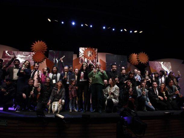 Vencedores do 44º Festival de Cinema de Gramado (Foto: Cleiton Thiele/Pressphoto)