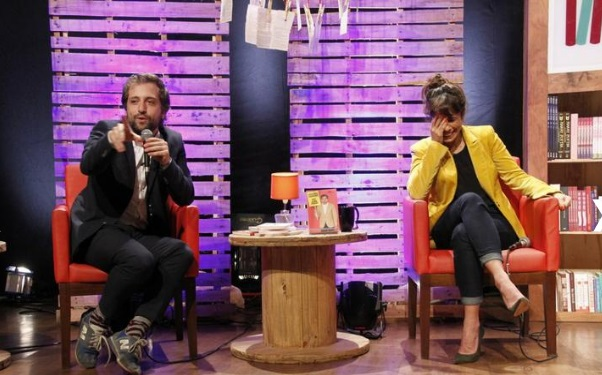 O debate aconteceu totalmente descontraído (Foto: Divulgação)