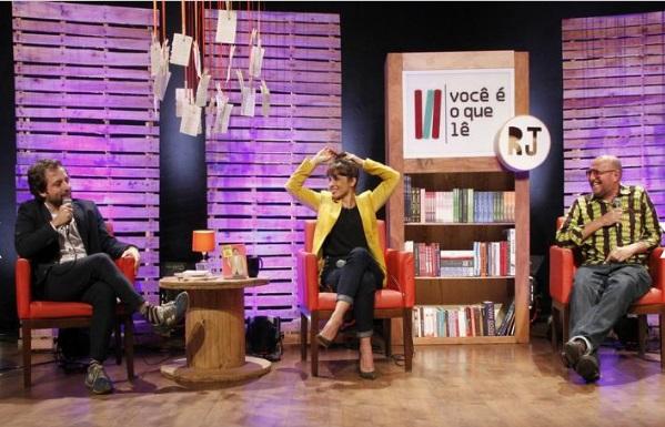 Os autores se reuniram em um papo na Livraria Cultura, no Rio (Foto: Divulgação)