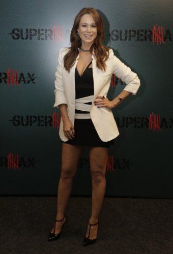 """Mariana Ximenes no lançamento de """"Supermax"""" (Foto: Artur Meninea /Divulgação)"""