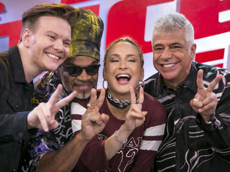 Técnicos do The Voice Brasil (Foto: Reprodução)