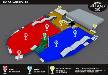 Os 60 mil ingressos serão divididos em três níveis (Foto: Reprodução)