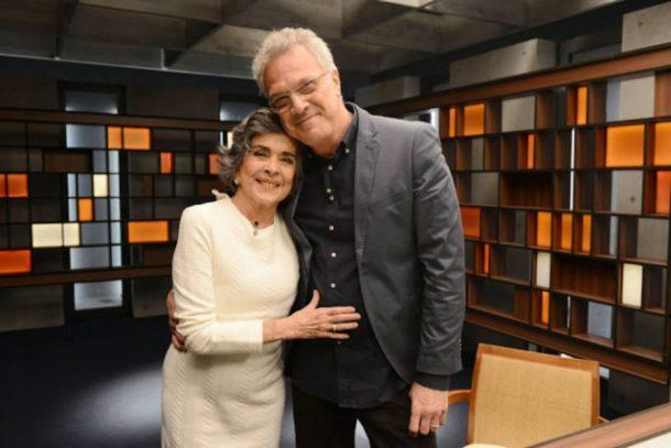 Betty Faria e Pedro Bial (Foto: Divulgação)