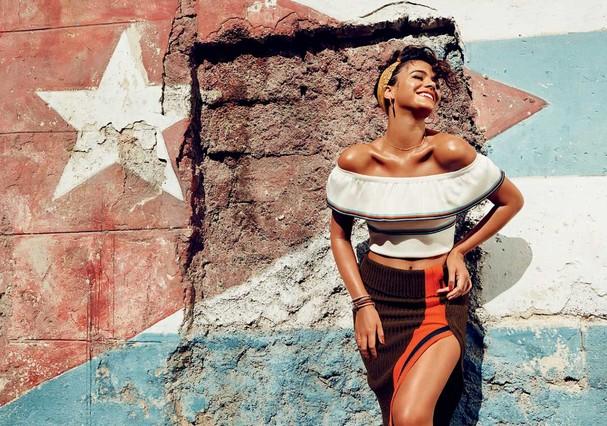 Bruna Marquezine posa em Cuba (Foto: Gil Inoue)
