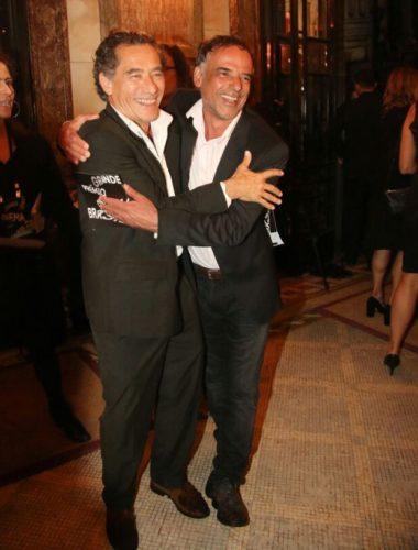 Chico Diaz e Ângelo Antônio (Foto: Anderson Borde/AgNews)