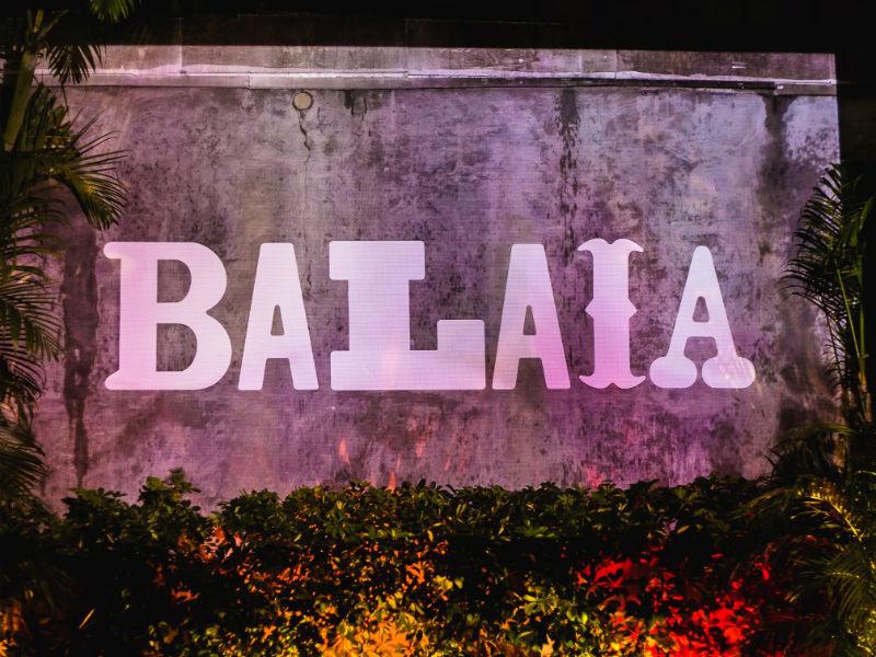 A festa Balaia ocupa a 00 nesta sexta-feira (Foto: Divulgação)