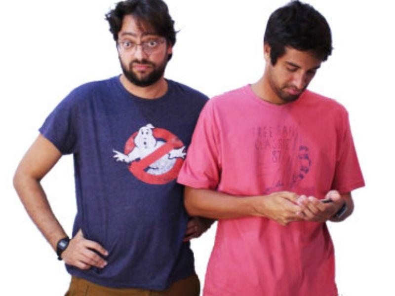 """Fernando Caruso e Rafel Studart em """"Solo Junto"""" (Foto: Reprodução)"""